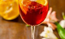 Spritz cocktail aperol campari select