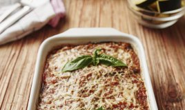 parmigiana zucchine melanzane