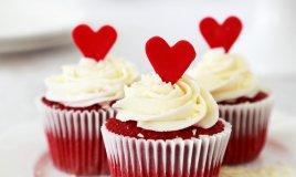 Red Velvet Cupcakes San Valentino USA