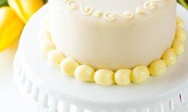 torta festa della mamma pasta di zucchero