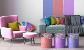 come tingere e colorare un divano