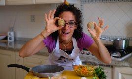 Polpette di quinoa con verdure