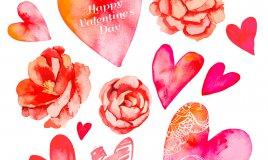 decoupage san valentino, decoupage san valentino decorazioni floreali, decoupage san valentino motivi floreali, decoupage san valentino casa