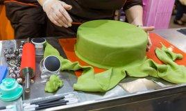 cake design, torta, base torta, pasta di zucchero