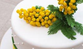 festa della donna, cake design, decorazioni cake design, pasta di zucchero, 8 marzo