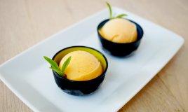 festa della donna, dessert, sorbetto mimosa