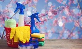 faccende domestiche, casa, pulizie primavera