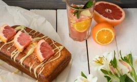 cucina senza glutine, dolci, torta pompelmo