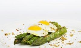 asparagi, bismarck, uovo