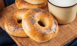 ricette senza glutine, cucina, bagels