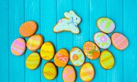 cake design pasqua, uova pasqua pasta di zucchero, coniglietti pasta di zucchero, cake design pasquale
