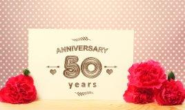 anniversario matrimonio, 50 anni, nozze d'oro