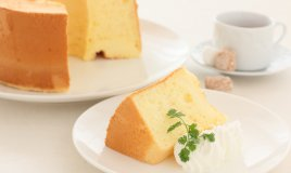torta, chiffon cake, senza glutine