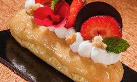 Alessandro Servida éclair cheesecake dessert francese