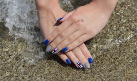nail art, estate 2017, mare