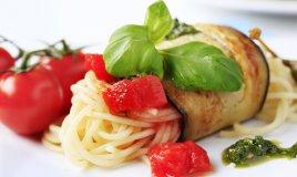 involtini melanzane ripiene di pasta, melanzane ricetta