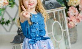 riciclo creativo vestito bambina