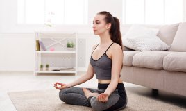 meditazione, relax, yoga