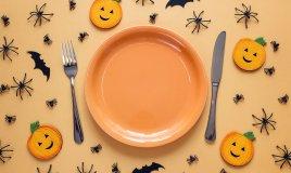 halloween, party bambini, decorare tavola