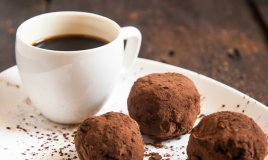 tartufi al caffè