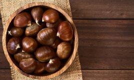 castagne, valori nutrizionali, frutta autunnale