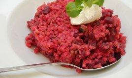 risotto, barbabietola rossa, ricette salate