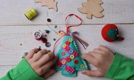 decorazioni di Natale, fai da te, bambini