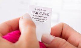 simboli etichette vestiti, etichette vestiti lavaggio