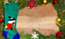 calza Befana, decorazioni, fai da te