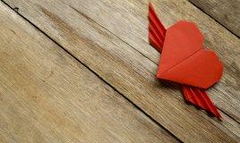 cuore origami facile