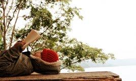 extreme reading, lettura estrema, posti assurdi per leggere