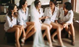 sposa, amiche