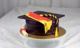 torte laurea pasta di zucchero, tocco pasta di zucchero, cappello laurea pasta di zucchero