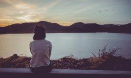 donna, lago
