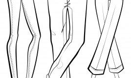 come prendere l'orlo ai pantaloni, come accorciare pantaloni