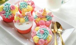 cupcake unicorno, unicorno pasta di zucchero