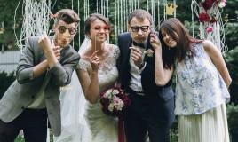sposi, amici