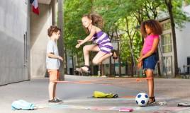 gioco elastico bambini