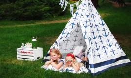 tenda indiani bambini fai da te