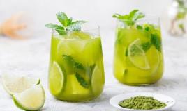 tè verde freddo, ricette, preparazione