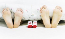 piedi, bambino