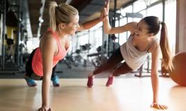 ragazze, allenamento
