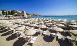 spiaggia, ombrelloni