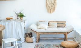 arredamento, casa di campagna, stile