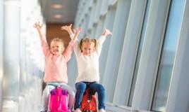 valigia cavalcabile per bambini