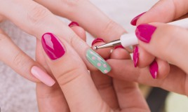 nail art, usare dotter, pois