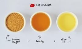 scrub, labbra, secchezza