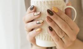 nail art, autunno 2018, tendenze