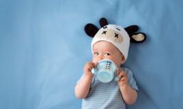 latte, bambino