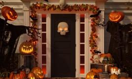 halloween, festa, decorazioni